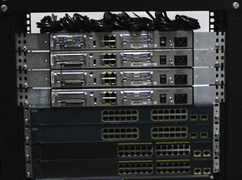 CCNA Lab in a Rack